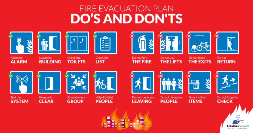 How To Evacuate A Building In Case Of Fire