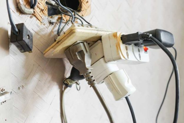 power cable fire safety hazard